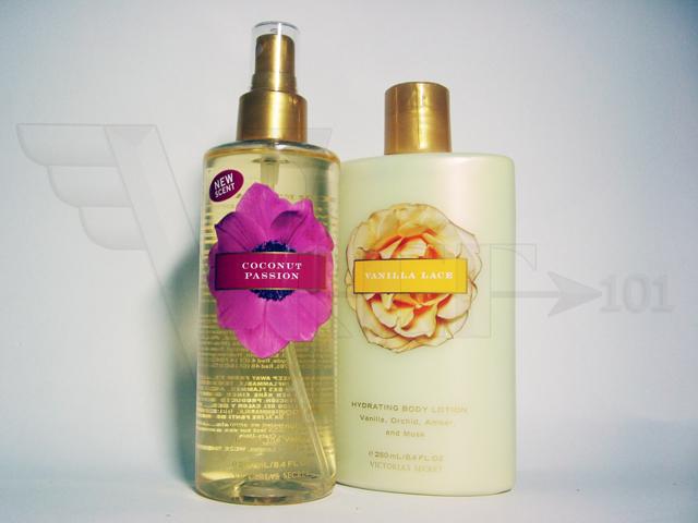d1f8b312b2 Victoria s Secret Coconut Passion Body Mist + Vanilla Lace Body Lotion